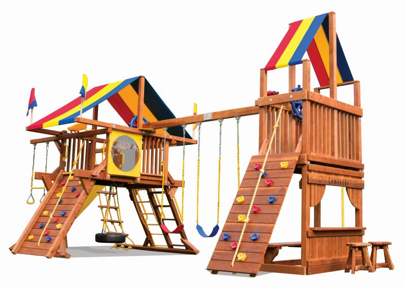Special Order Rainbow Play Sets Backyard Playworld Omaha